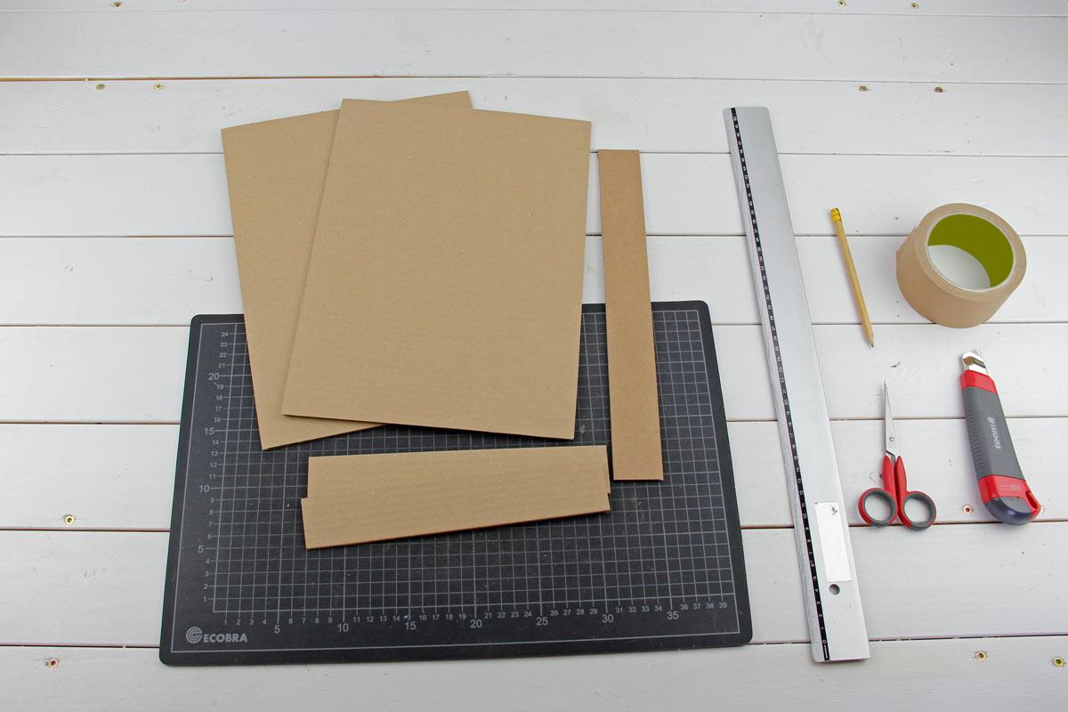 anleitung buchh lle zum selbstbaubuch paul pappe und die papprakete basteln mit pappe und. Black Bedroom Furniture Sets. Home Design Ideas