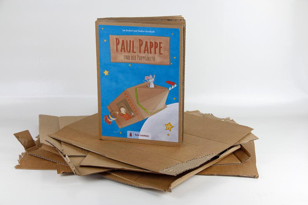 Basteln Mit Pappe Und Papier Gesucht Und Gefunden Paul Pappe Und
